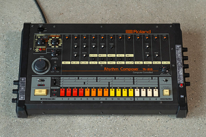 Available at a discount, TR-808s became newly popular.