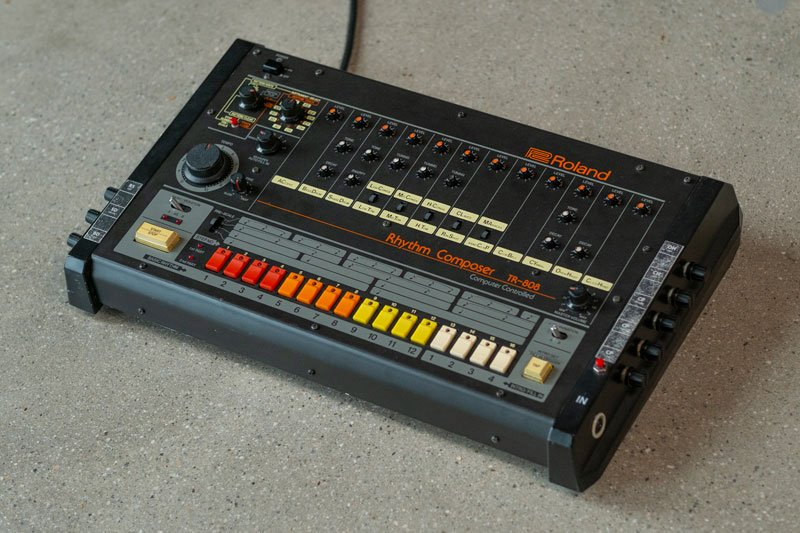 The Roland TR-808