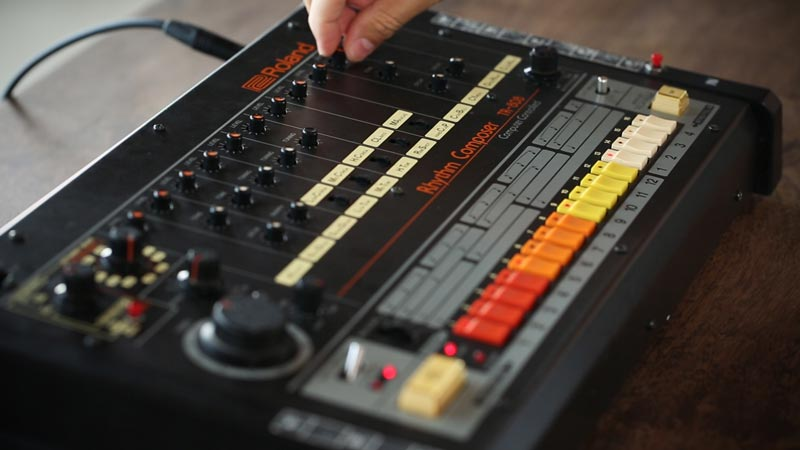 Tuneable and customizable drums set the TR-808 apart.