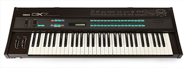 Yamaha's DX7 synthesizer is an FM powerhouse