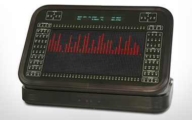 The Beating Spectrum display