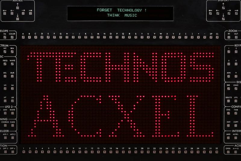 Technos Acxel Resynthesizer