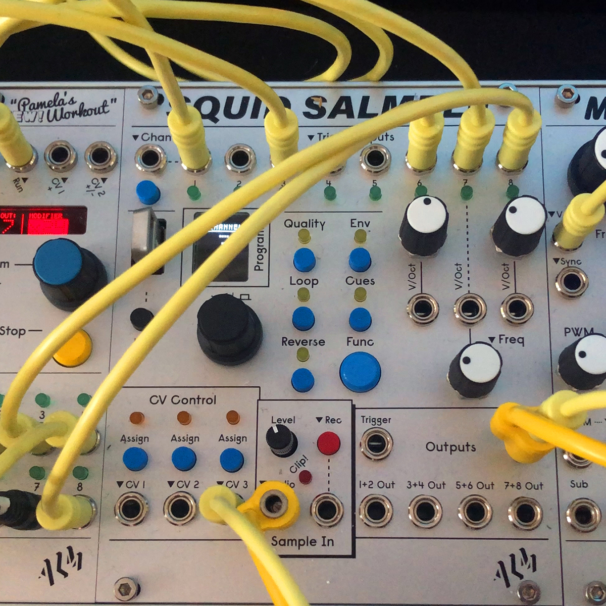 ALM's Squid Salmple at Superbooth 2019