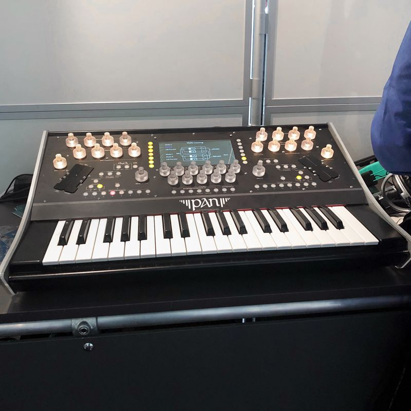 Syntonovo Pan at Superbooth 2019