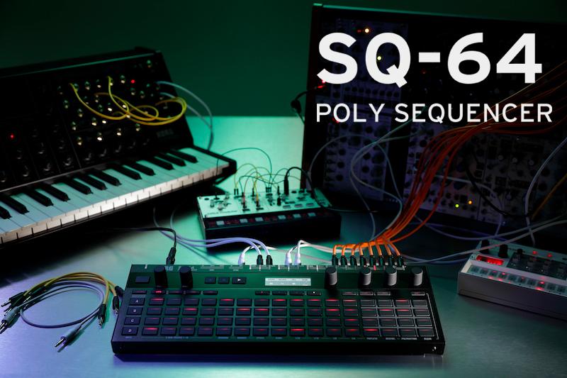 Korg SQ-64 Polyphonic Sequencer