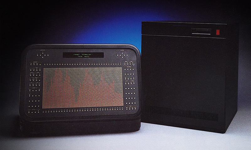 The Technos Acxel's Grapher (left) and Solitary (Right), from original Acxel product brochure.