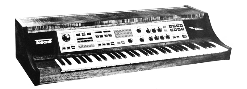 The Buchla Touché, from Touché product brochure c. 1978