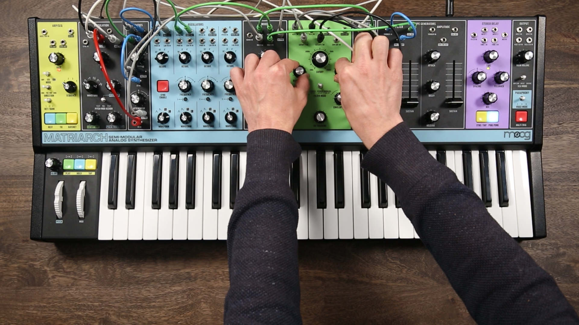 Moog Matriarch: Who Needs Polyphony - Perfect Circuit