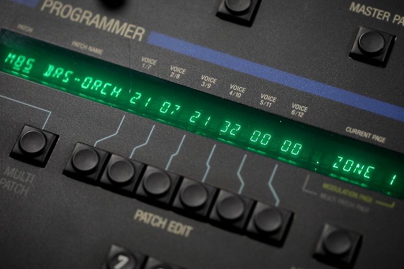 Patch Edit display on the Oberheim Matrix-12