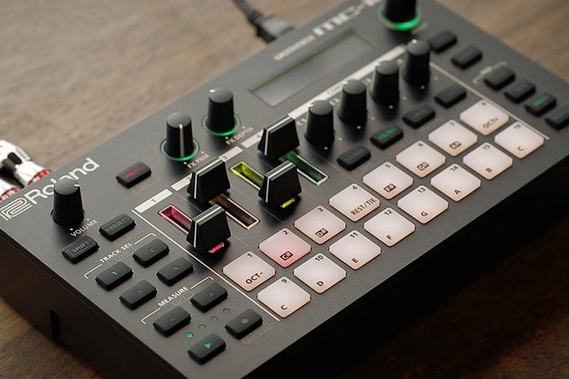 The Roland MC-101 standalone groovebox