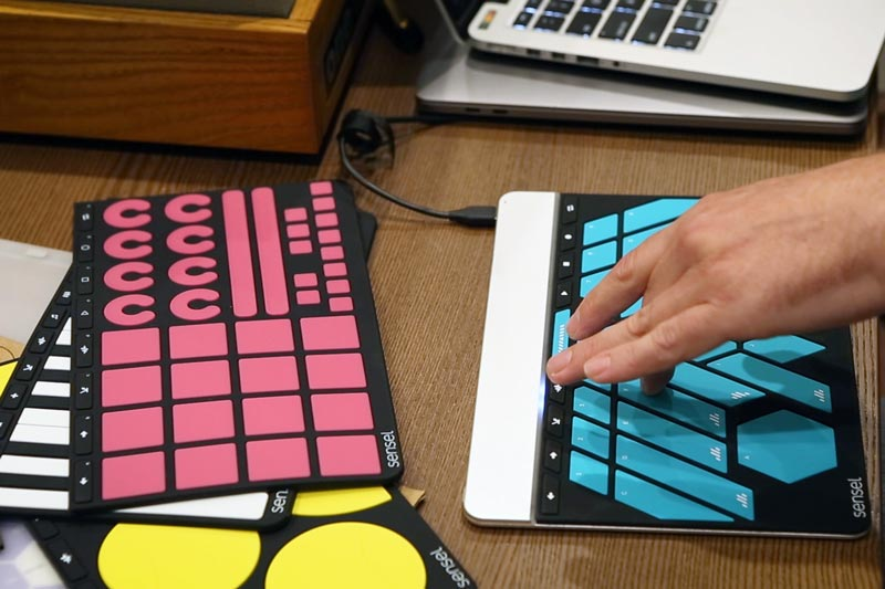 Sensel's Morph, an affordable, MPE-capable multi-touch controller