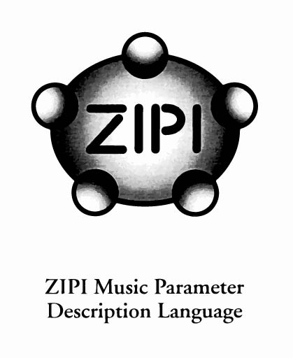 ZIPI logo, from Zeta/CNMAT/G-WIZ Proposal for a New Networking Interface for Electronic Musical Devices