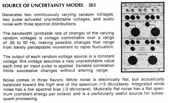 265 details from vintage Buchla brochure