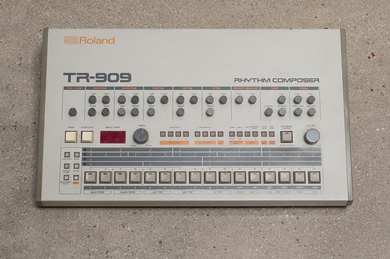 Roland's classic TR-909 Rhythm Composer