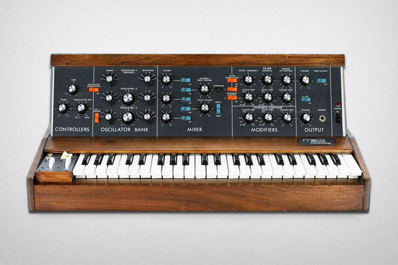 Moog Minimoog Model D, a classic analog monosynth
