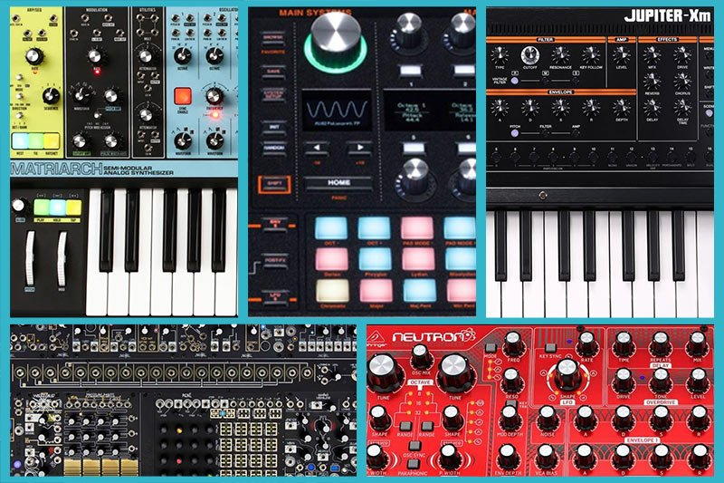 Different Types of Synthesizers