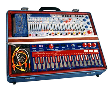 The Buchla & Associates Music Easel, c. 1973