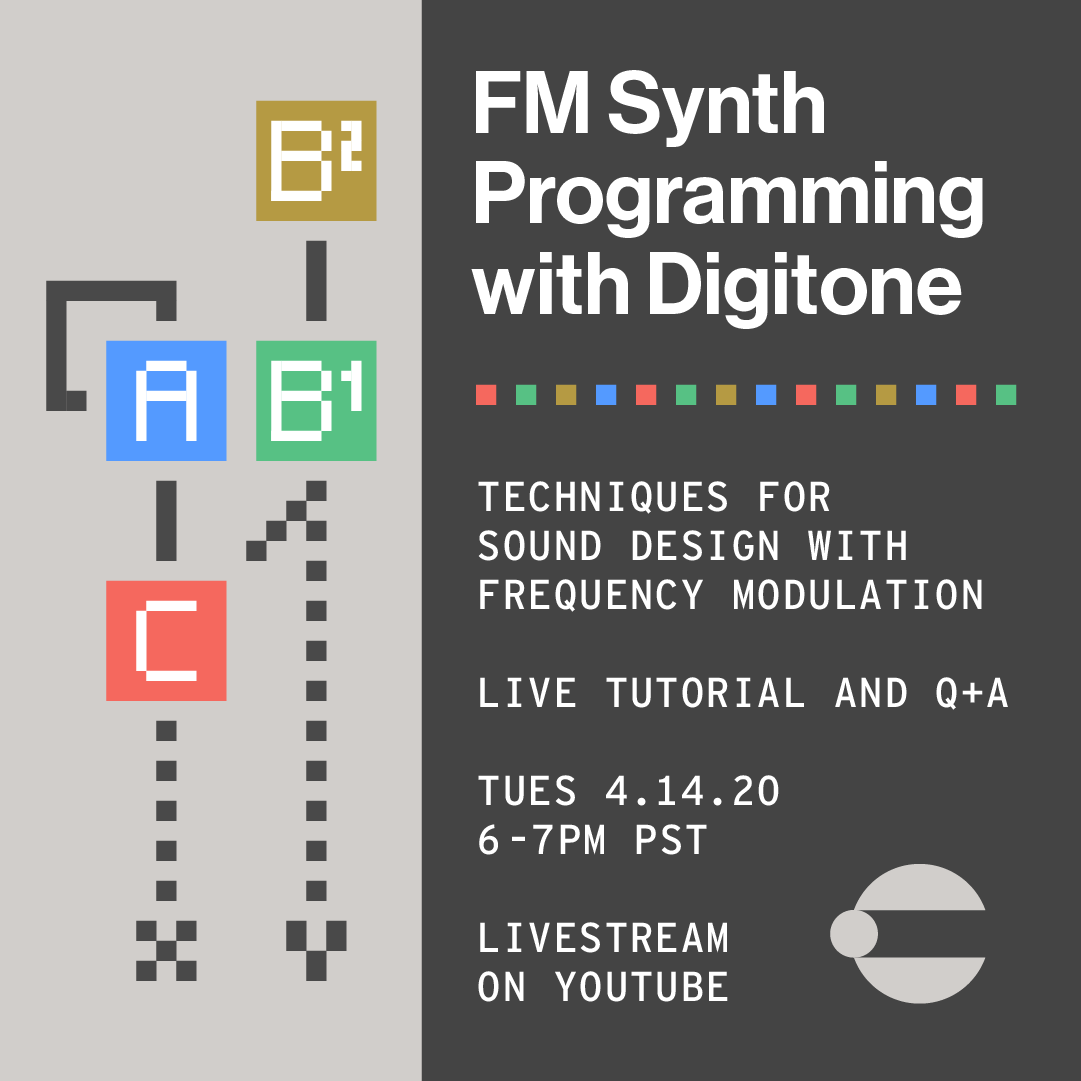 FM Synth Programming with the Digitone