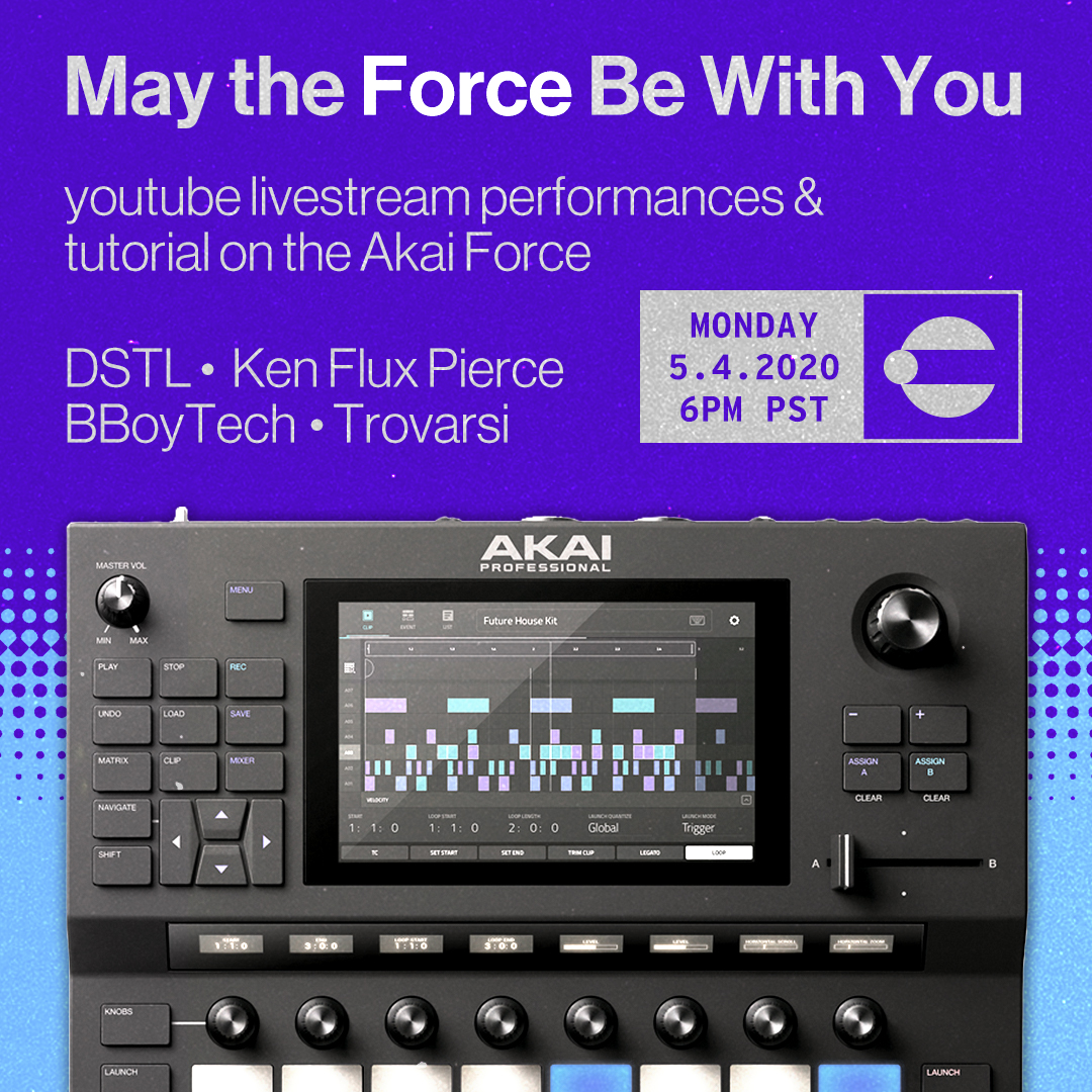 May the FORCE be with you... the Akai Force that is!