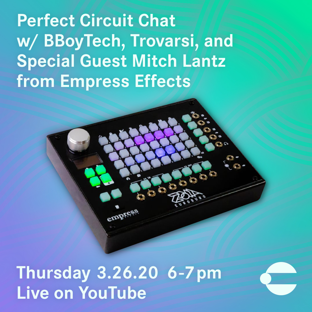 Livestream Chat with Mitch Lantz from Empress Effects hosted by Trovarsi and BBoyTech