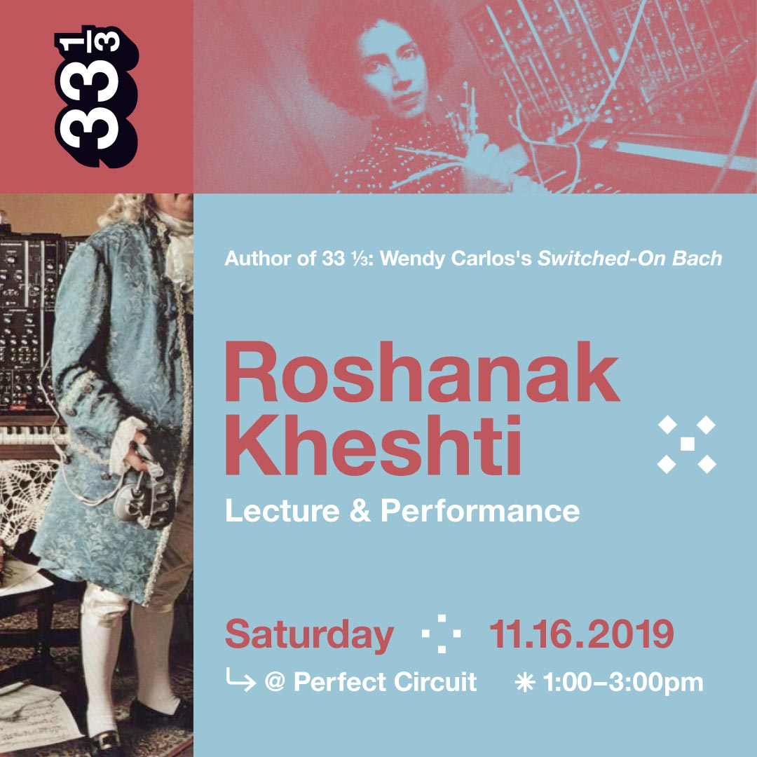 Switched-On Bach Lecture & Performance With Roshanak Kheshti