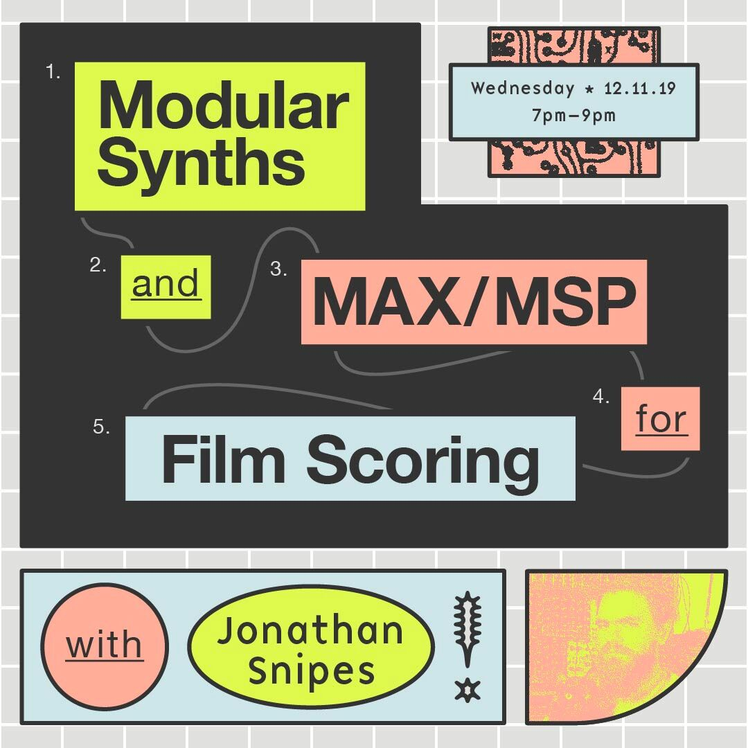 Jonathan Snipes Scoring For Film Workshop