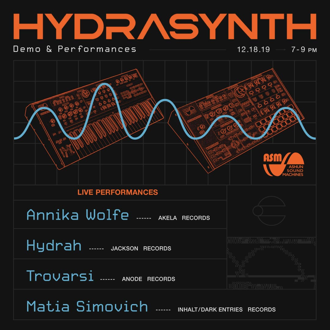 ASM Hydrasynth: Demo + Performances