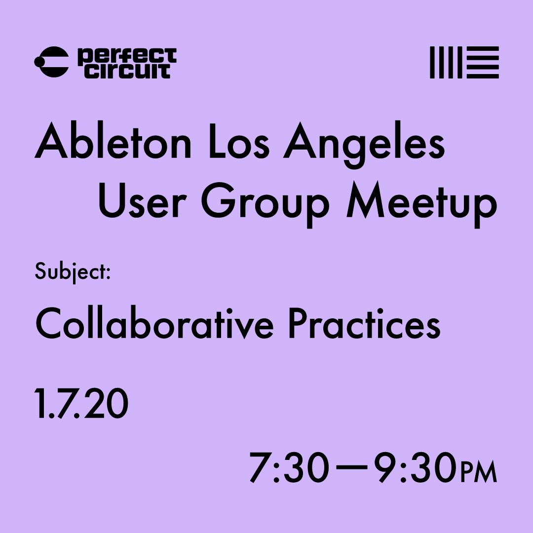 Los Angeles Ableton User Group Meetup
