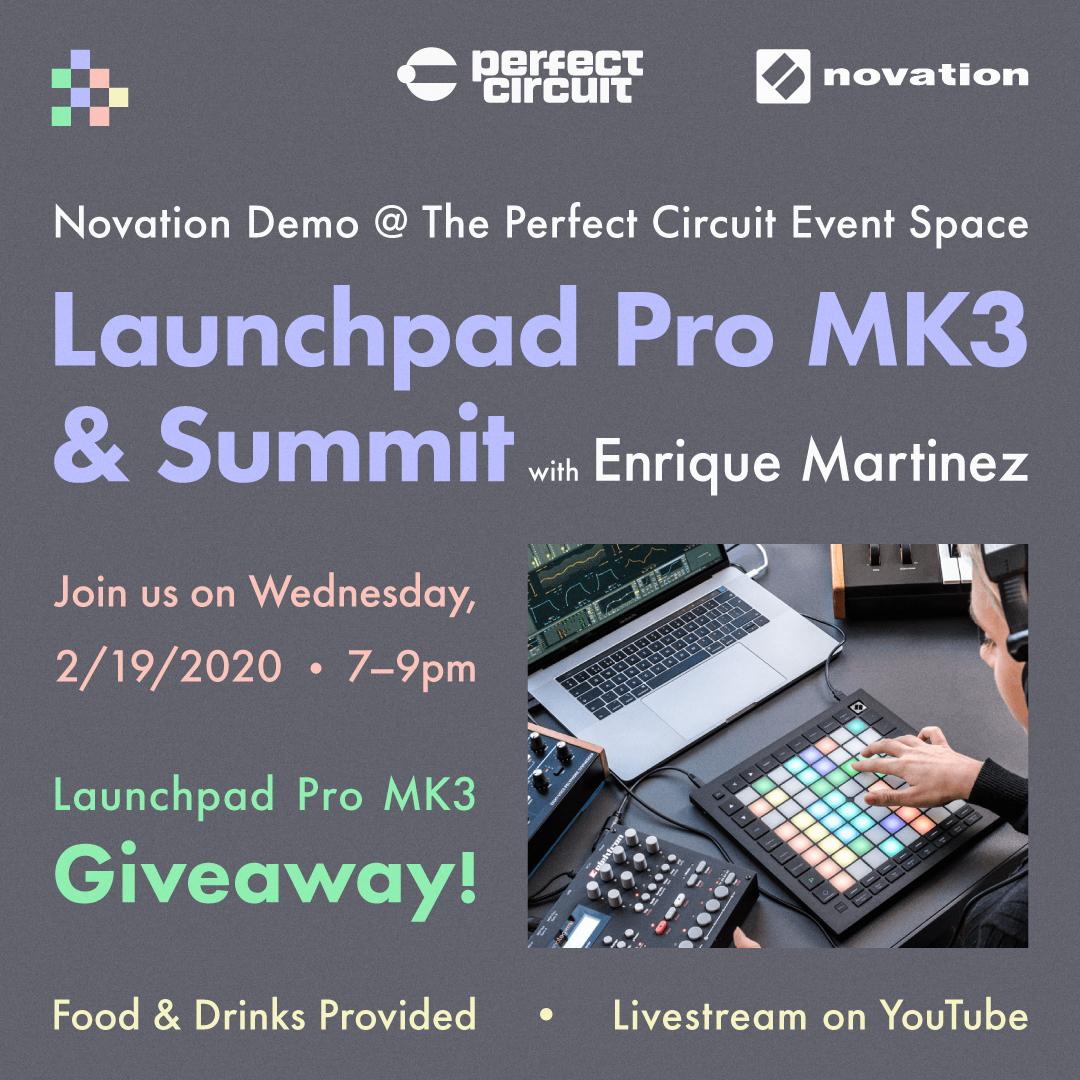 Novation Launchpad Pro MK3 + Summit Demo with Enrique Martinez