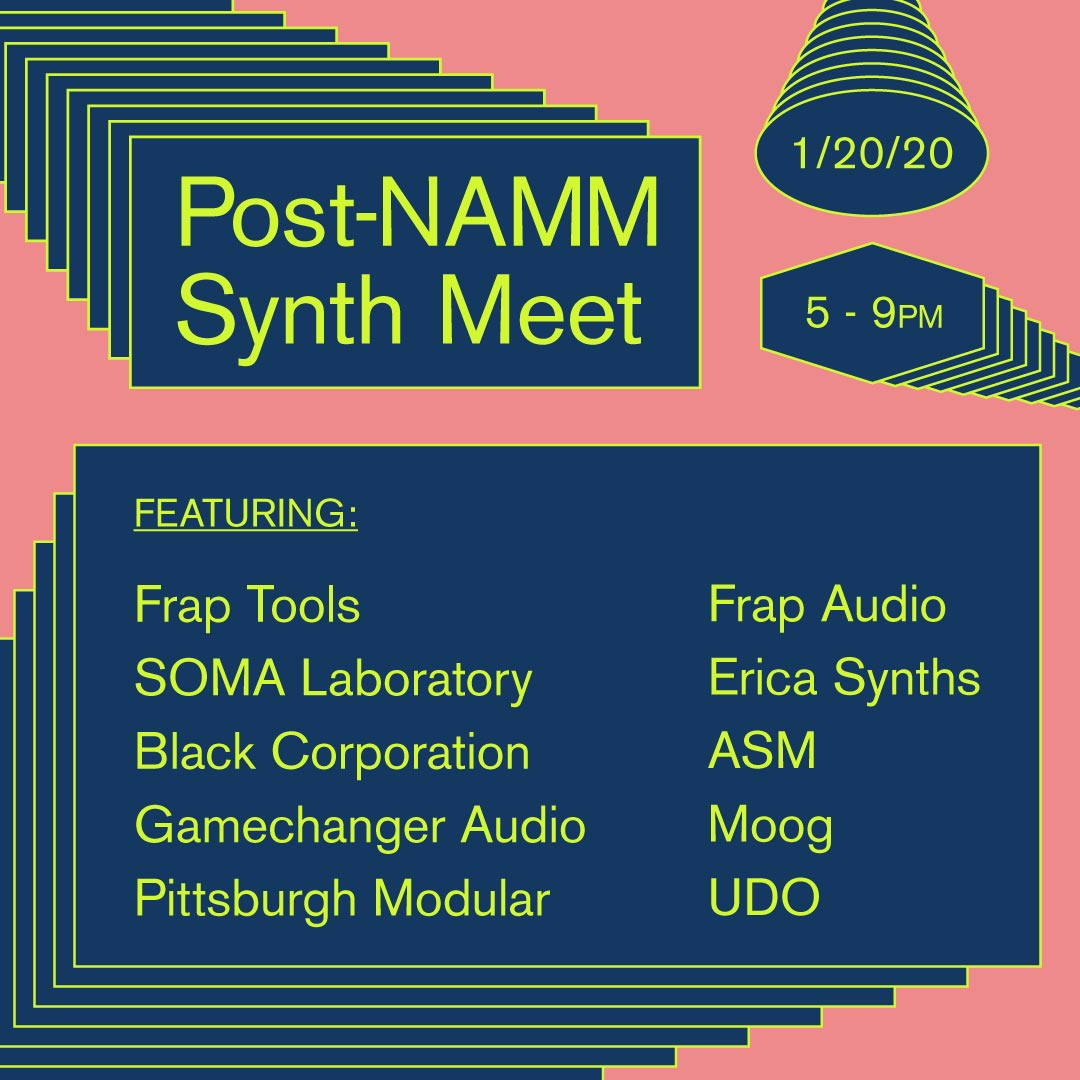 Post-NAMM Synth Meet