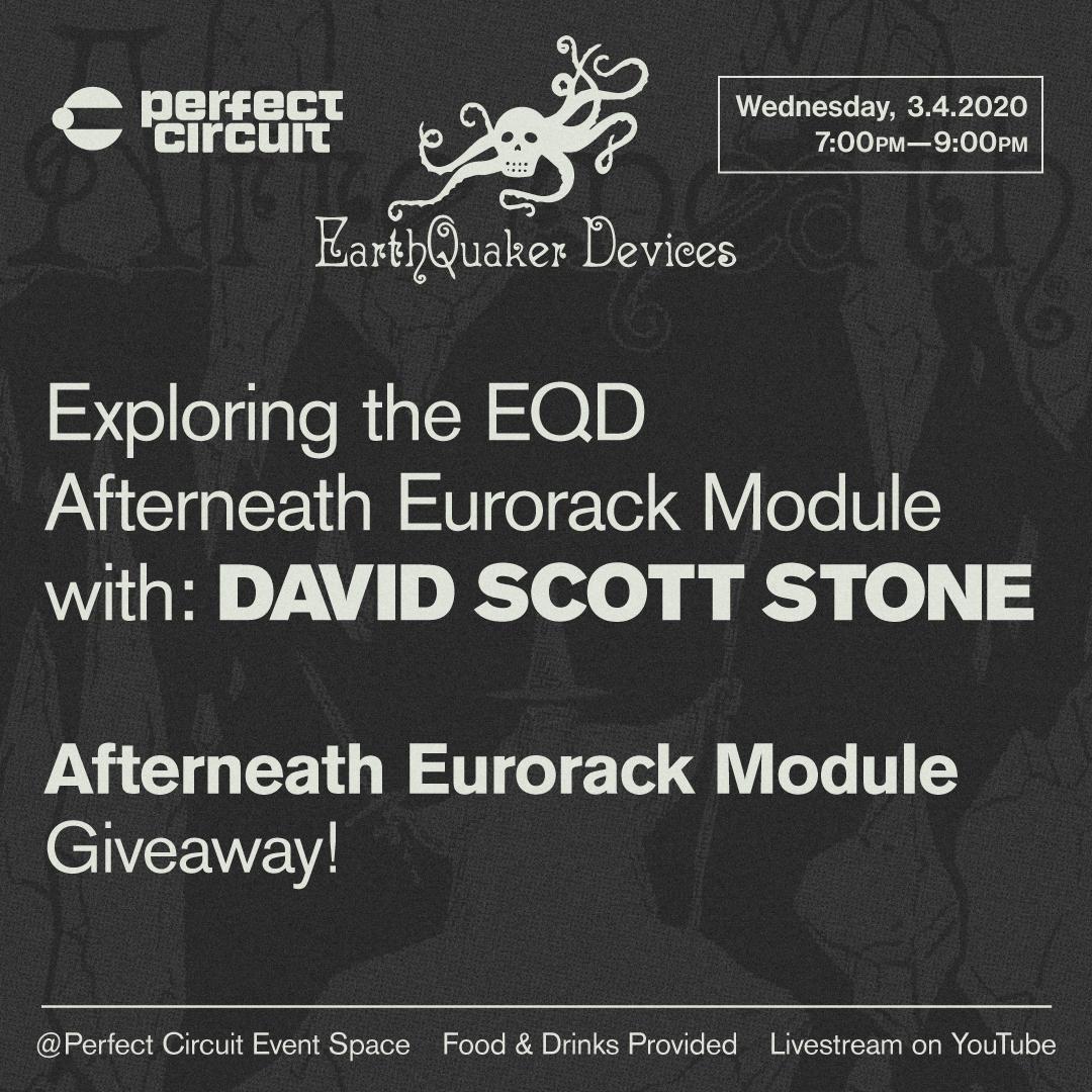 Exploring The EQD Afterneath Eurorack Module with David Scott Stone