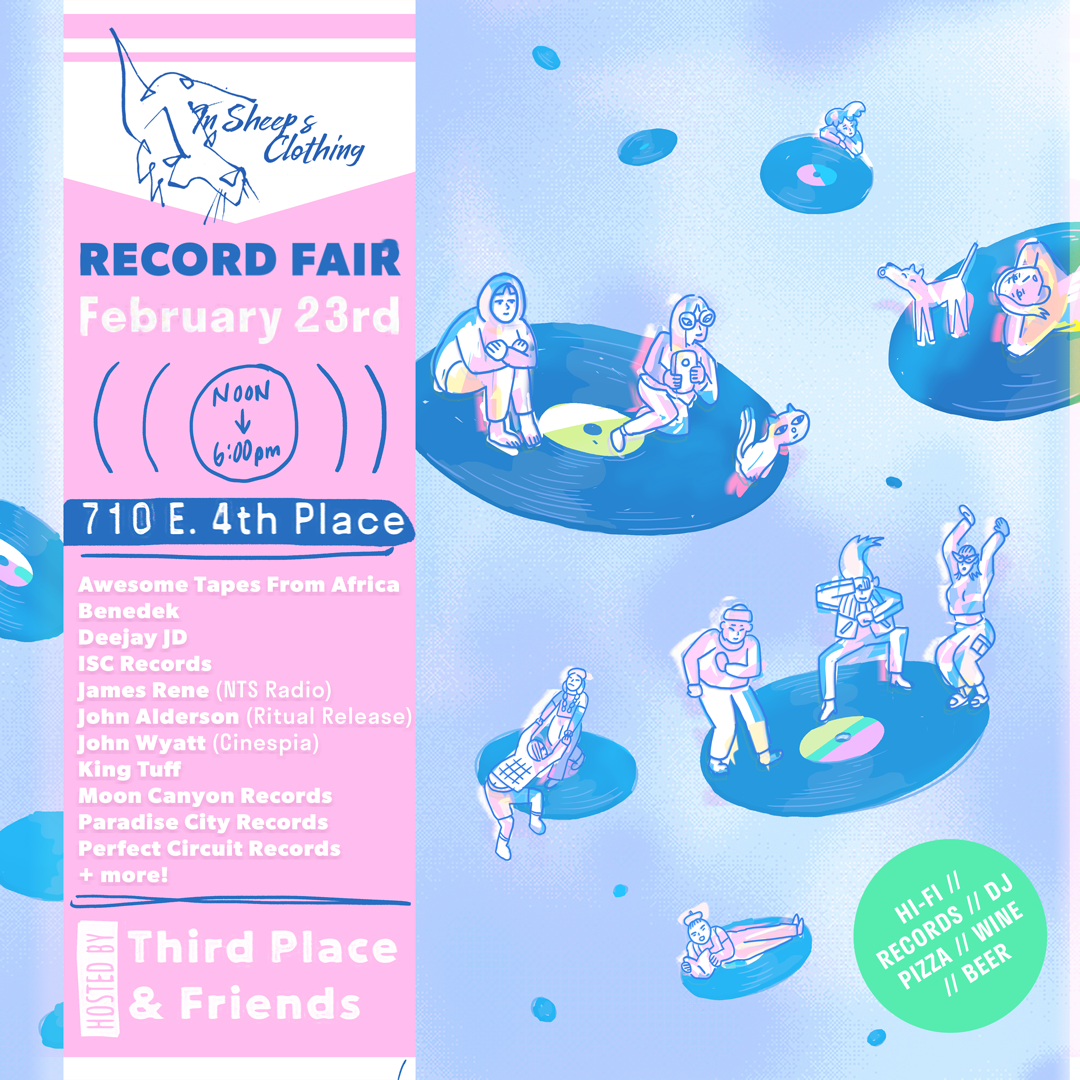 Perfect Circuit Records at In Sheep's Clothing Record Fair