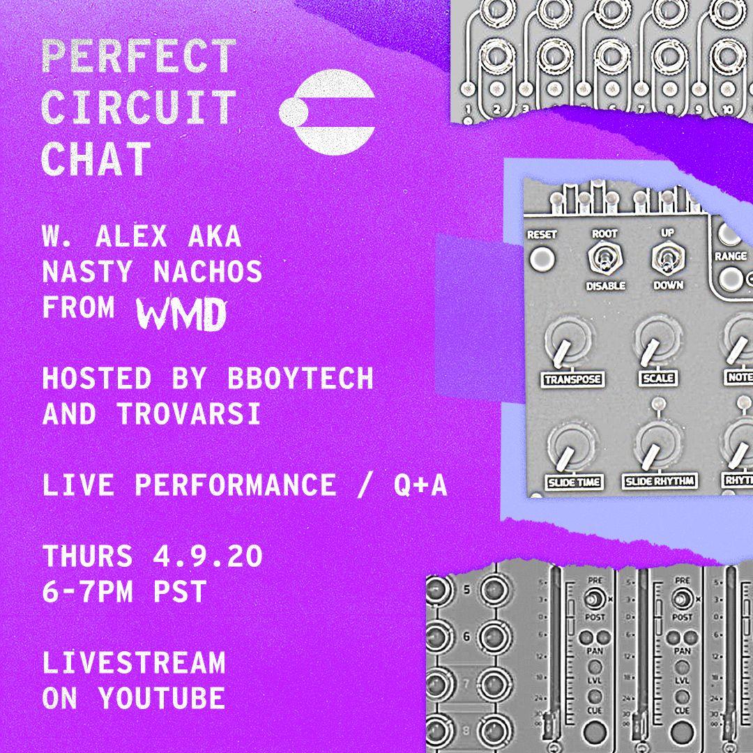 Perfect Circuit Chat w/ Alex (aka Nasty Nachos) from WMD