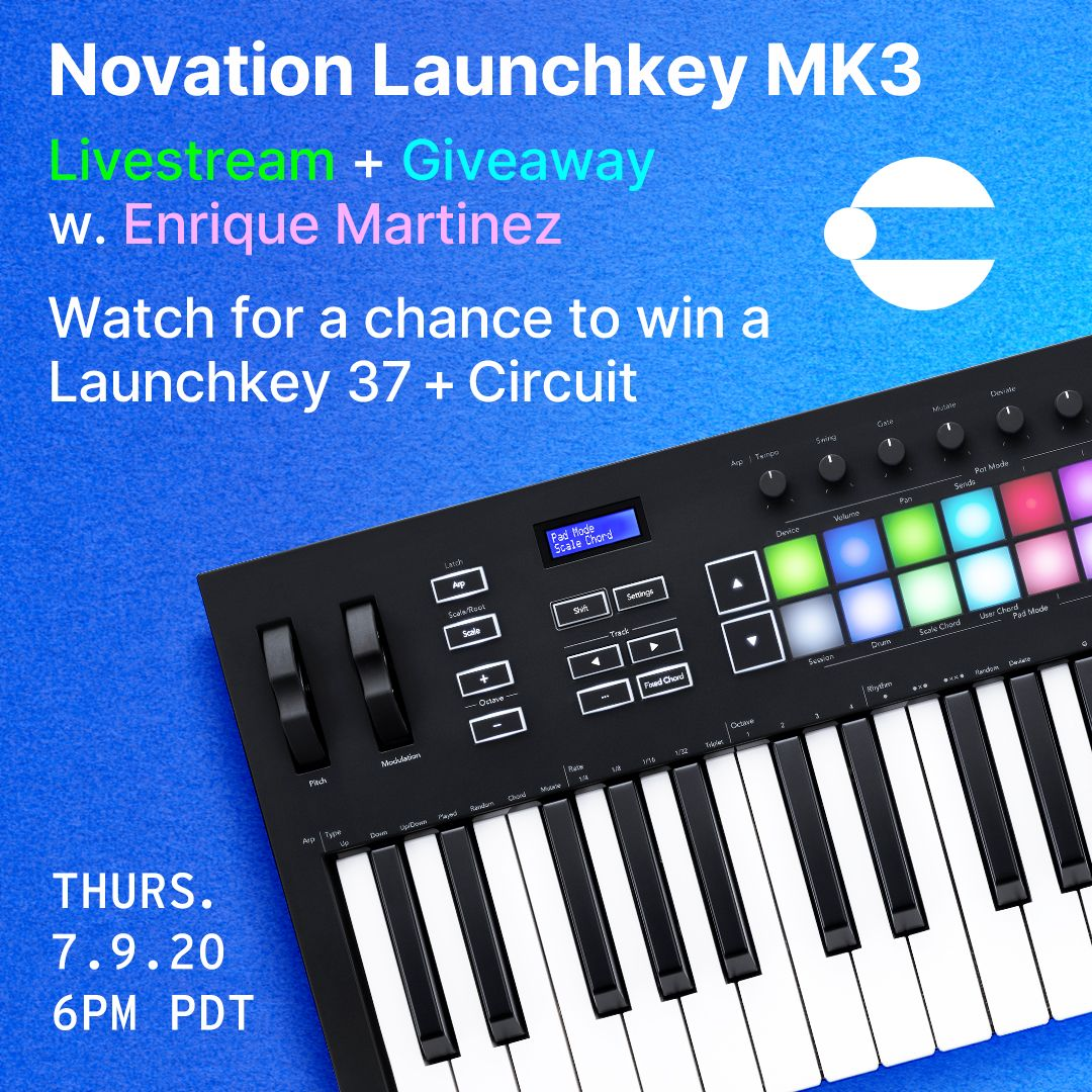 Novation Launchkey MK3 Livestream Demonstration Plus Giveaway