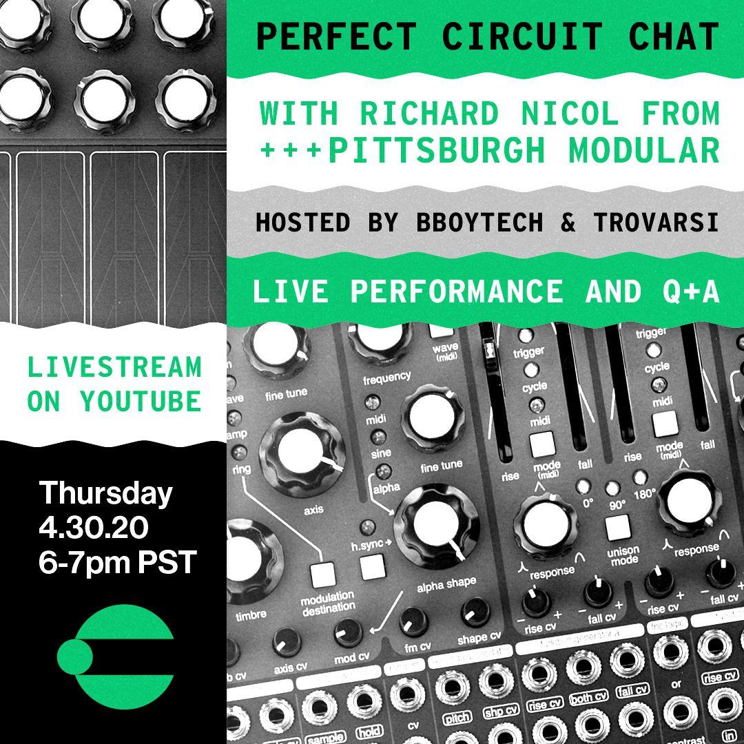Perfect Circuit Chat w/ Richard Nicol of Pittsburgh Modular
