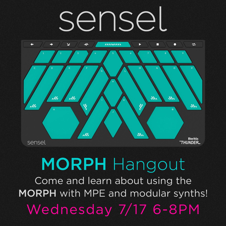 Sensel Morph Hangout