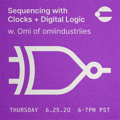Sequencing with Clocks and Digital Logic w/ Omi of omiindustriies