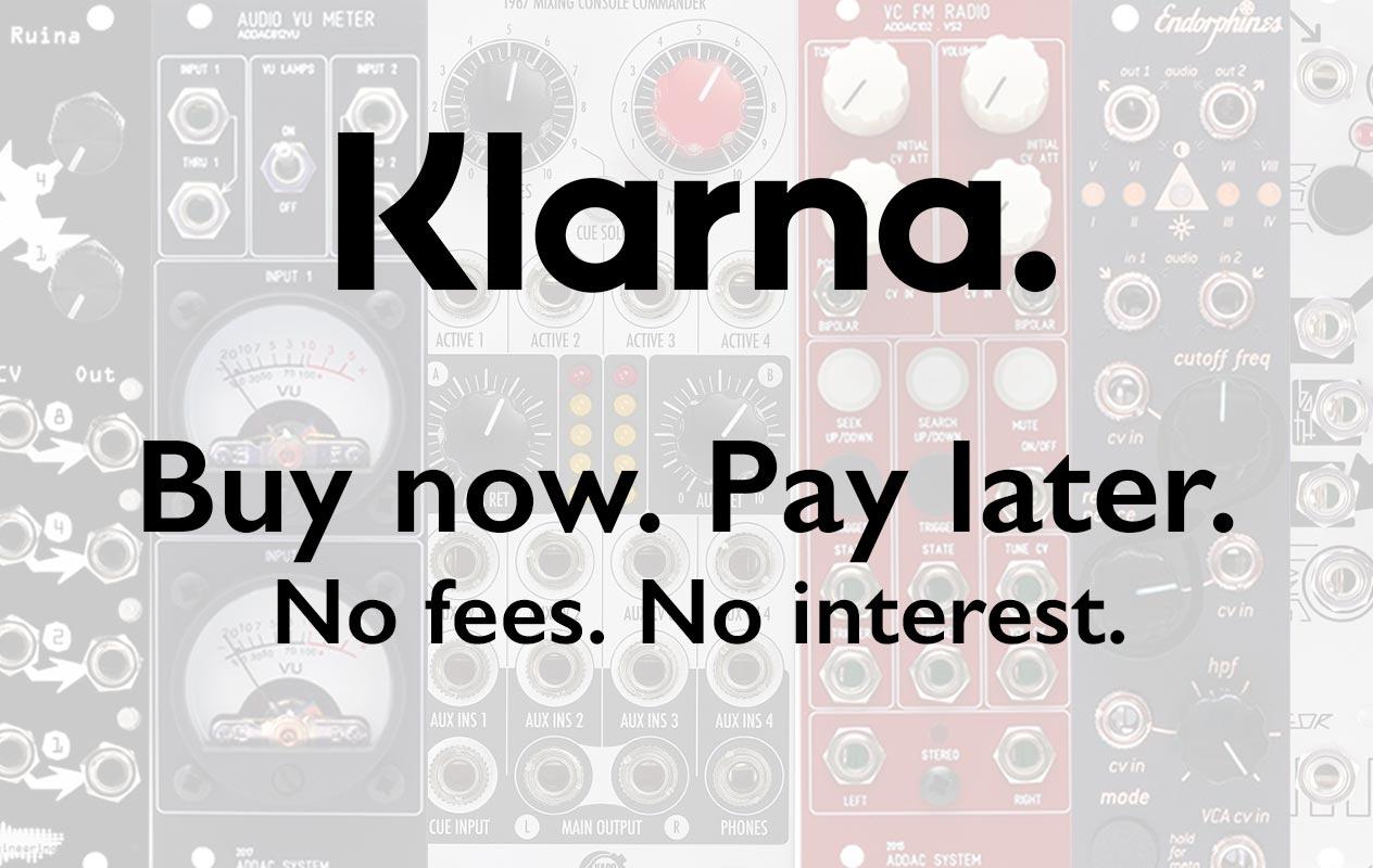 Financing with Klarna