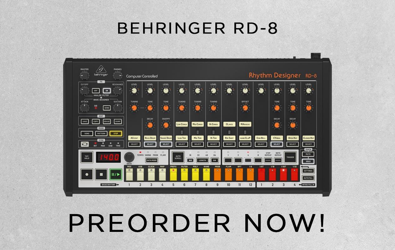 Preorder Behringer RD-808