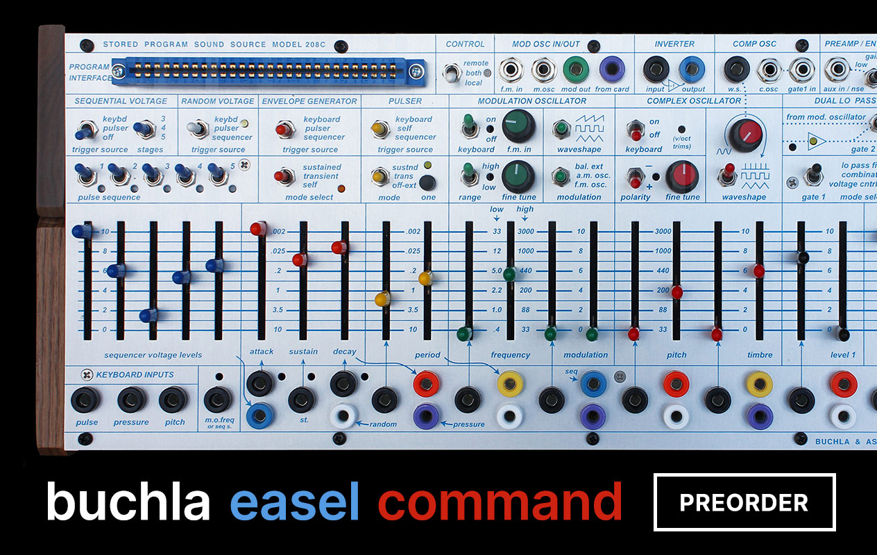 Now Carrying Buchla